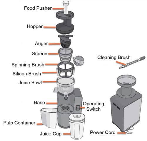 Image diagram of Omega VSJ843Q parts