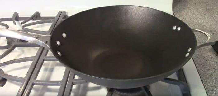 Photo of non-stick wok