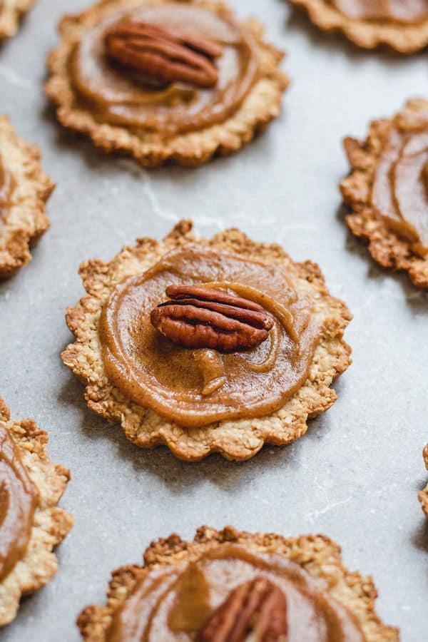 Healthy Mini Pecan Pies