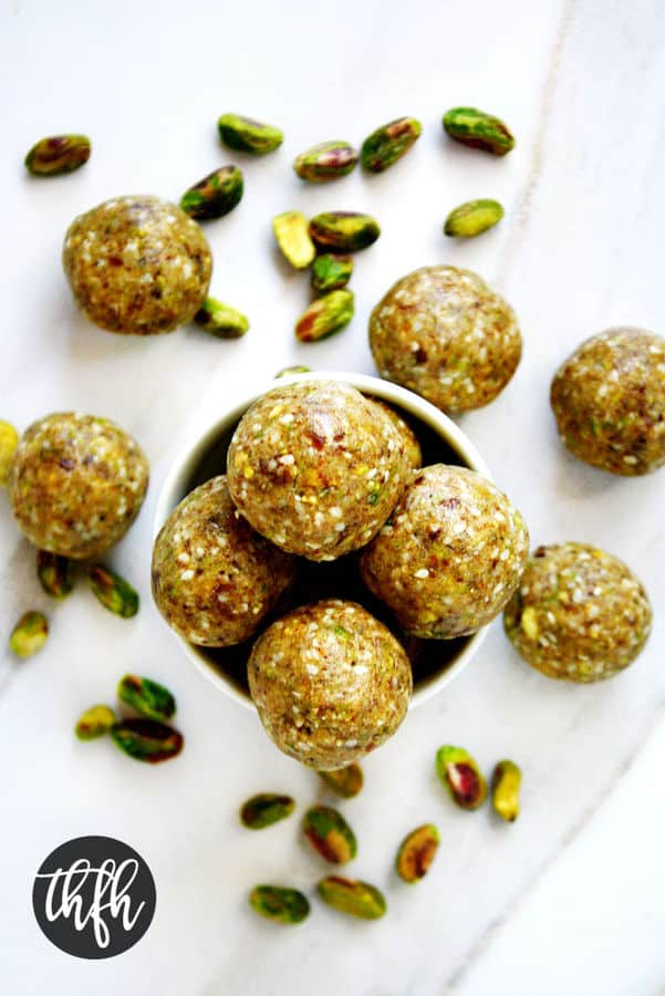 Pistachio Sesame Seed Balls
