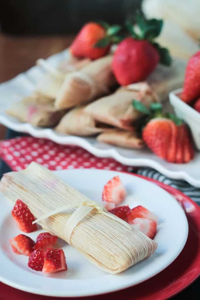 Strawberry Dessert Tamales