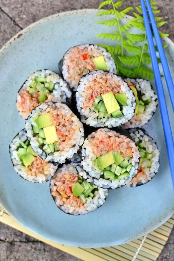 """Tuna"" Sushi Rolls"