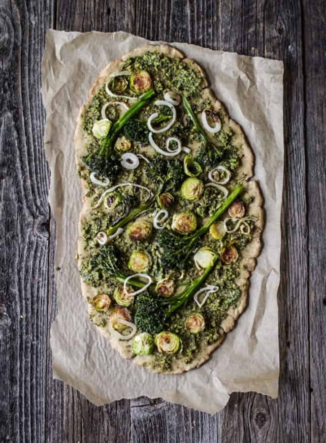(Very Green) Pesto Pizza