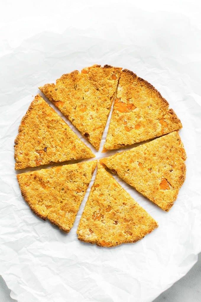 3-Ingredient Sweet Potato Pizza Crusts (Gluten-Free)