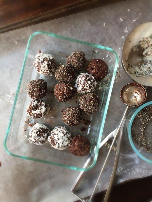 60-Second Brownie Bites