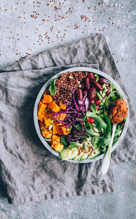 Buddha Bowl, The Ultimate Vegan Protein Source