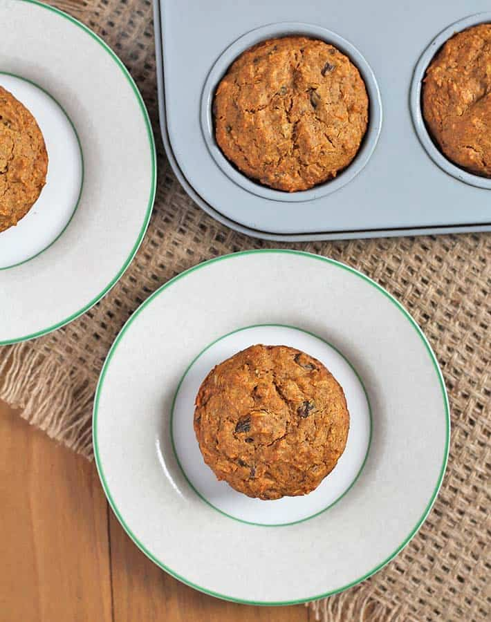 Carrot Coconut Muffins (Gluten-Free)