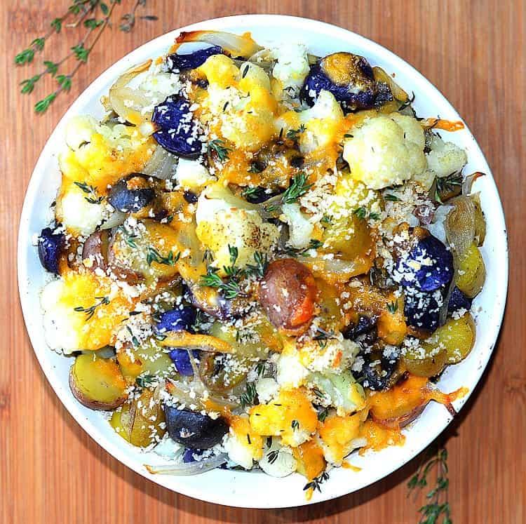 Cauliflower and Potato Casserole