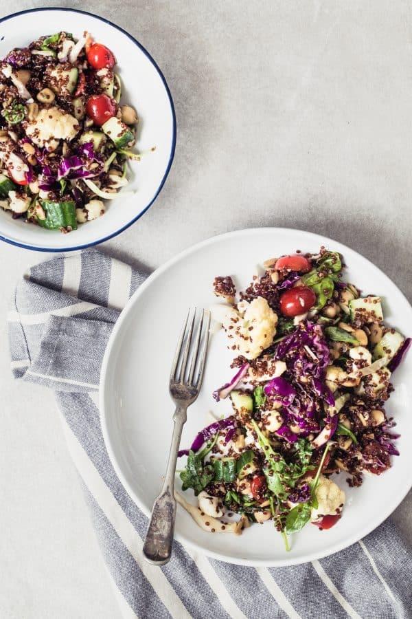 Cauliflower Quinoa Salad