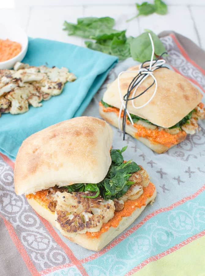 Cauliflower Sandwich