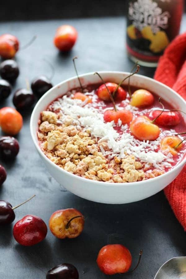 Cherry Smoothie Bowl