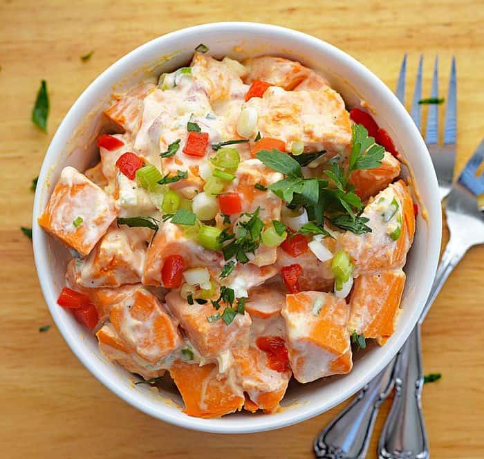 Creamy Sweet Potato Salad
