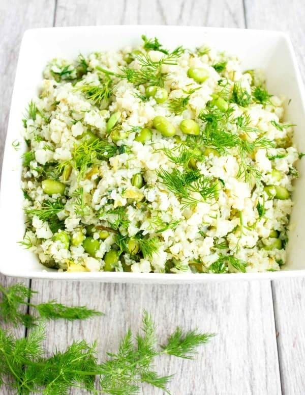 Dill Cauliflower Rice