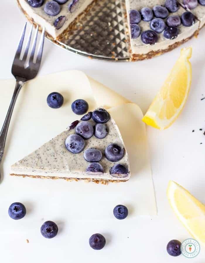 Earl Grey Lemon Cheesecake (Gluten-Free)