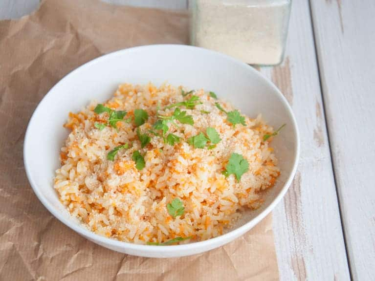 Healthy Carrot Rice
