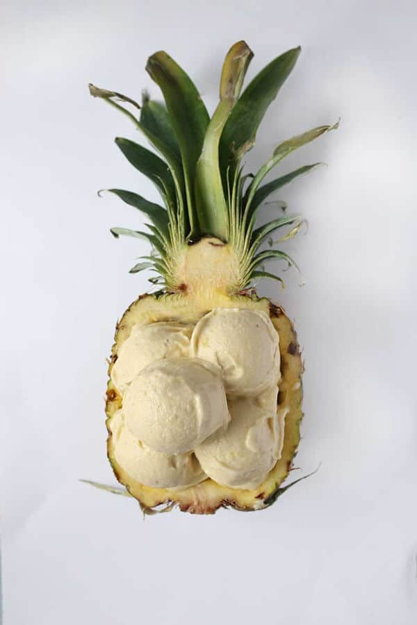 Healthy Pineapple Banana Ice cream