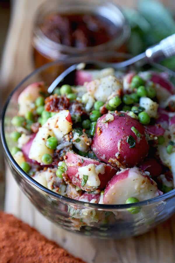 Healthy Red Potato Salad