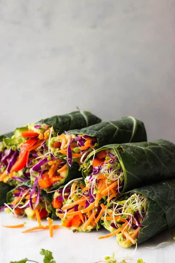 Healthy Veggie Rolls