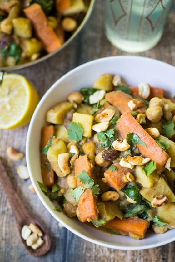 Indian Potato Chickpea Stew