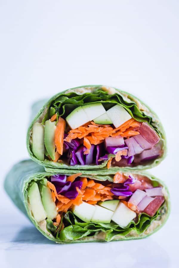 Loaded Veggie Wraps