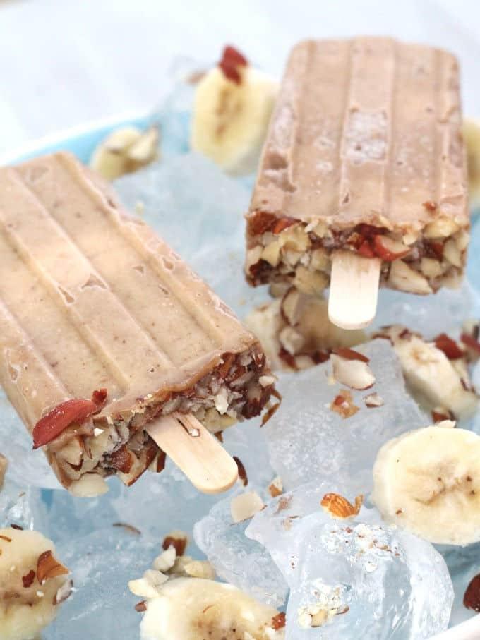 Peanut Butter & Banana Popsicle