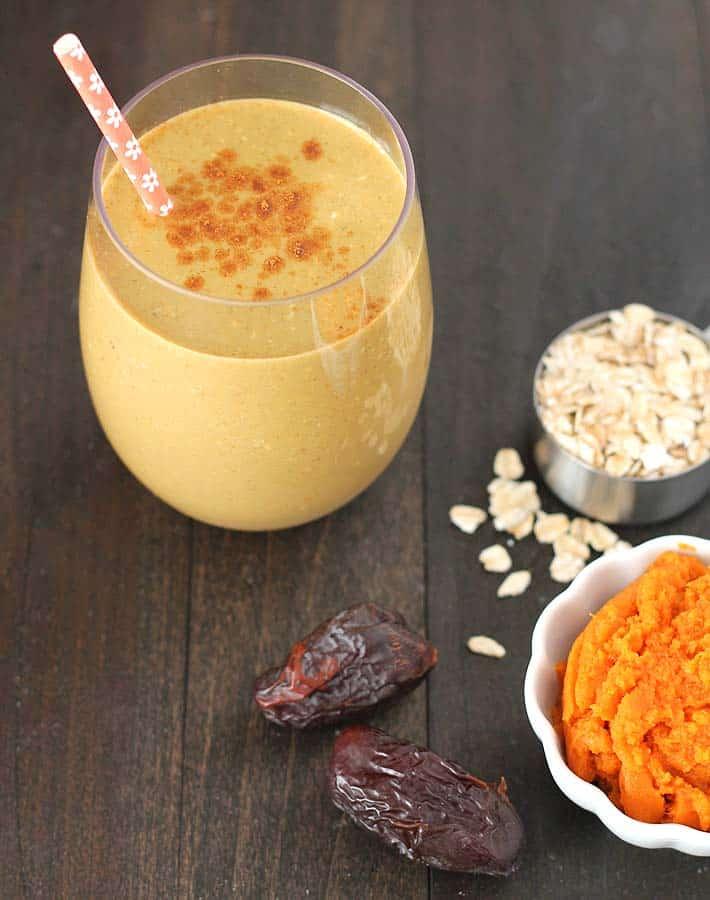 Pumpkin Spice Vanilla Smoothie