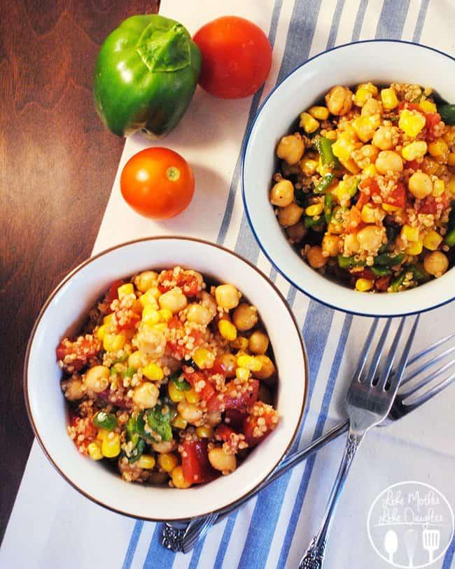 Quinoa Corn Salad