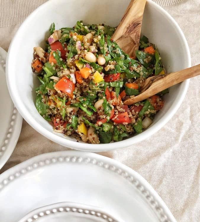 Rainbow Quinoa Salad + Phytonutrients