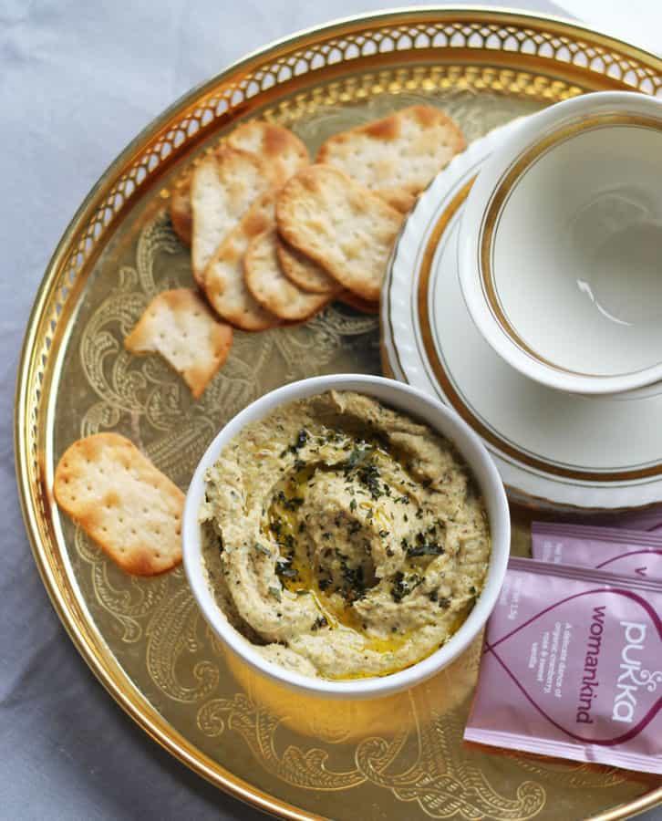 Roasted Cauliflower Hummus