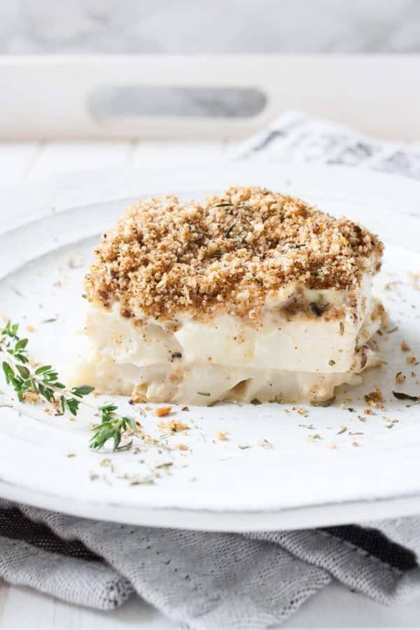 Scalloped Cauliflower (Gluten-Free)