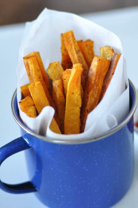 Simple Nutritious Side: Butternut Squash Fries