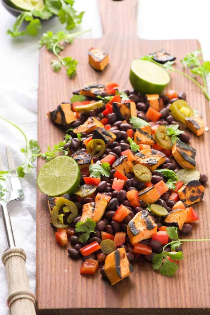 Southwestern Grilled Sweet Potato Salad
