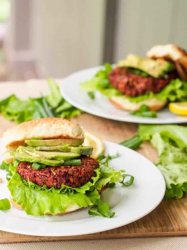 Superfood Vegan Veggie Chia Seed Burger