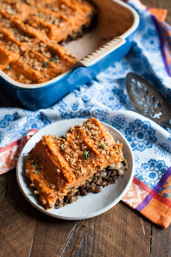 Sweet Potato and Lentil Shepherd's Pie