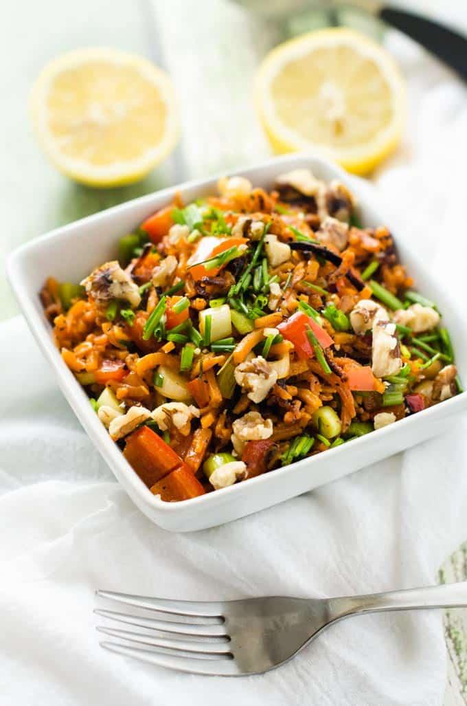Sweet Potato Rice Pilaf
