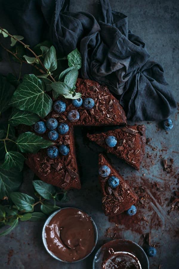 Vegan Chocolate Cake, Simple and Delicious