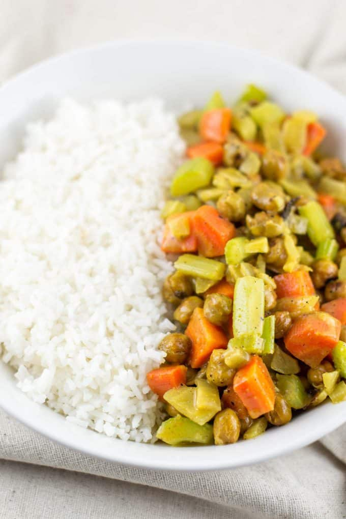 Vegan Coconut Curry Bowls