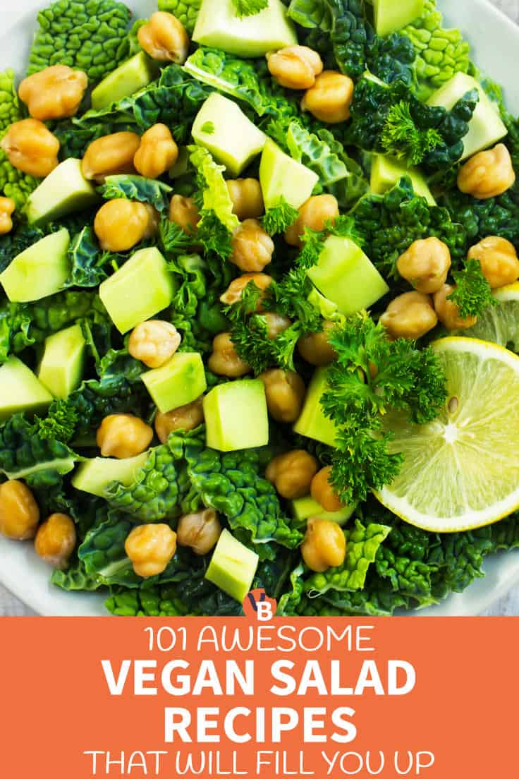 101 Awesome Vegan Salads that Will Fill You Up