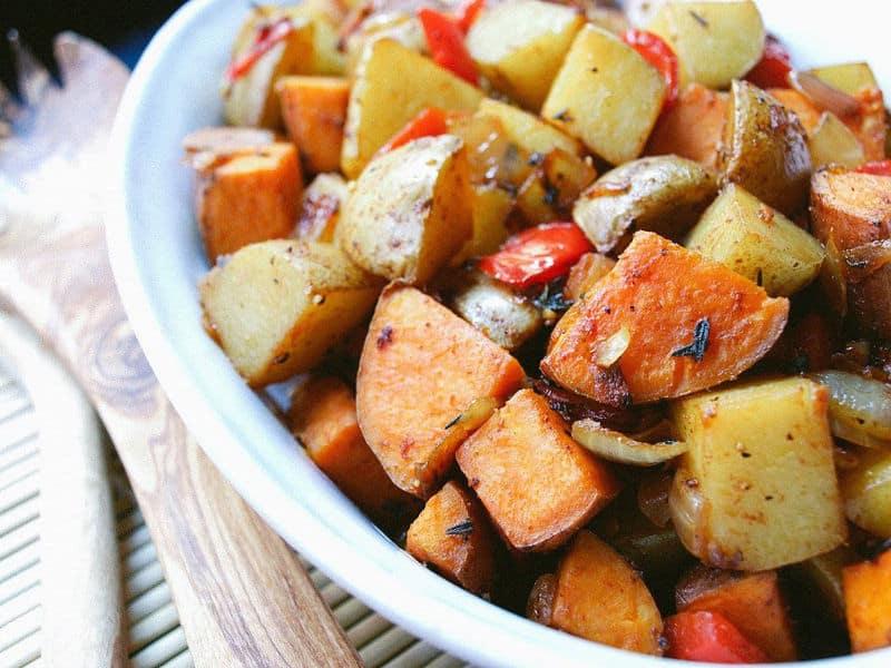 Yukon Gold & Sweet Potato Home Fries