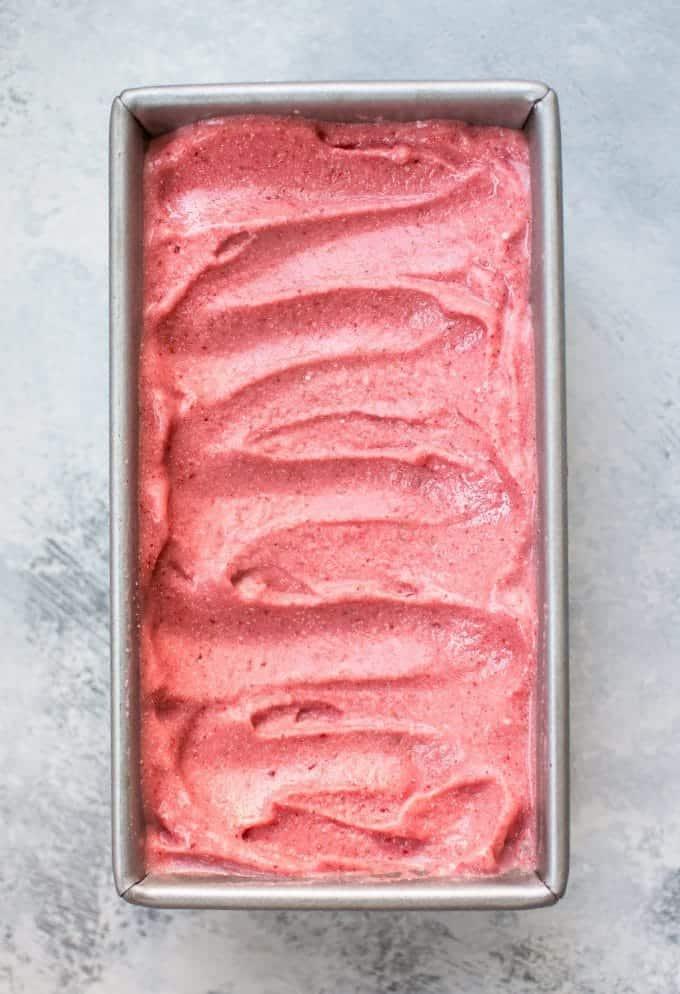 2-Ingredient Strawberry Ice Cream