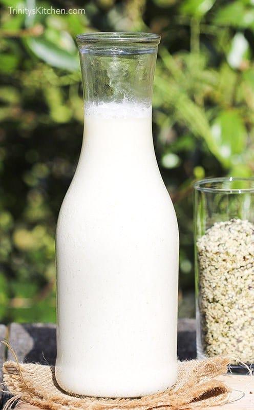 2-Minute Hemp Milk
