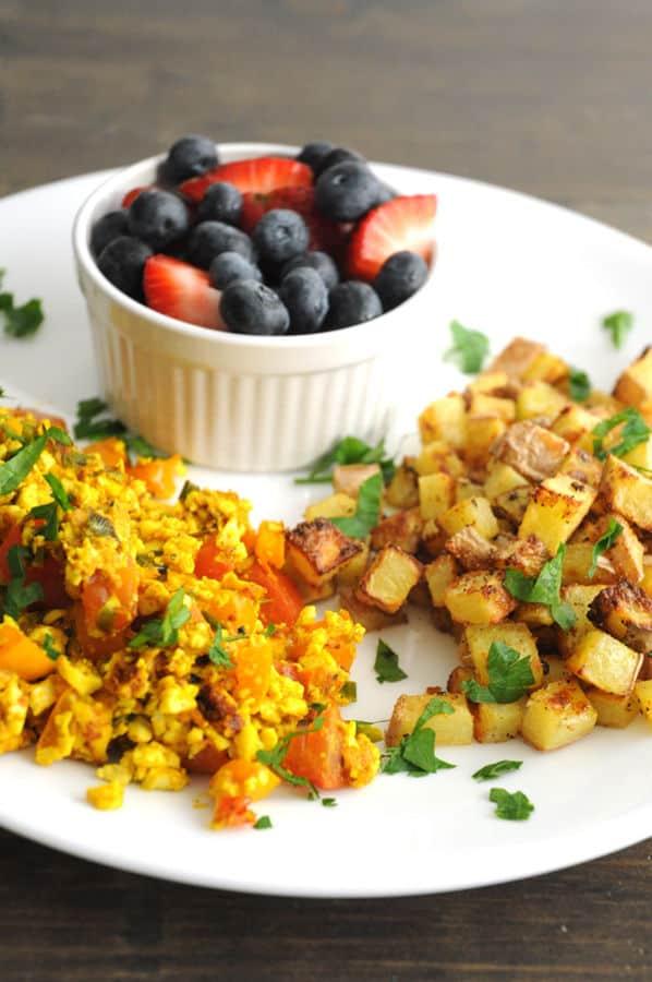 Big Vegan Breakfast