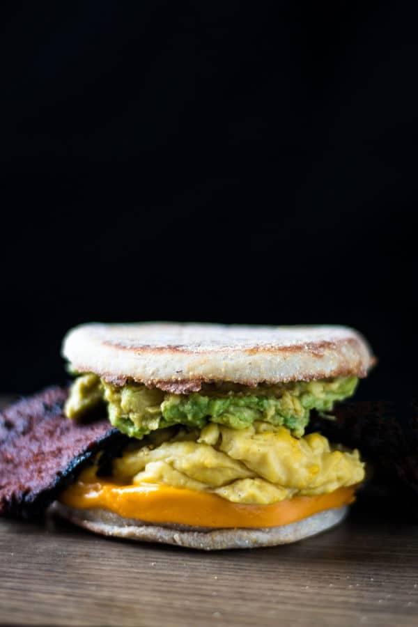 Bodega Breakfast Sandwich with Avocado
