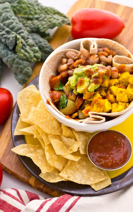 Cheap and Easy Breakfast Burrito Bowl