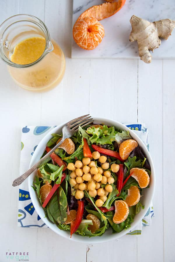 Clementine Dressing with Wasabi and Ginger