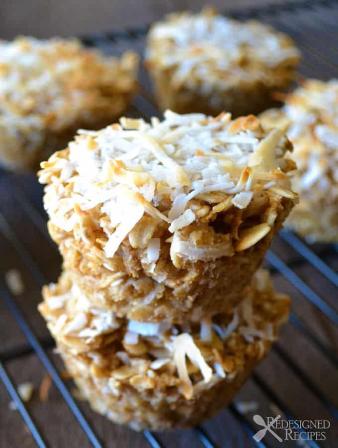 Coconut Cream Baked Oatmeal (Gluten-Free)