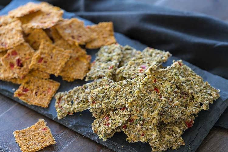 Cruciferous Crackers
