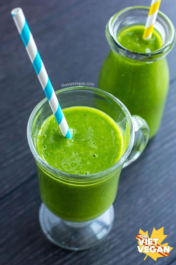 Easy and Creamy Green Smoothie