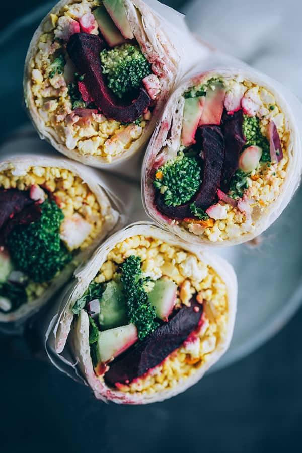 Easy Breakfast Burrito
