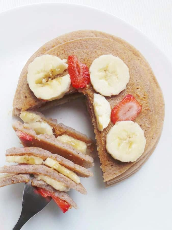 Easy Buckwheat Pancakes (5 Ingredients, Gluten-Free)